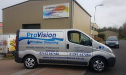 Van Signwriting for Pro Vision Window Cleaning