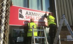 Outdoor Signage for Axminster Tools Skills Centre