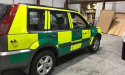 Reflective Vehicle Safety Graphics for Rapid Emergency Services