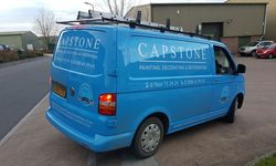 Van Graphics for Capstone Painting, Decorating and Restoration