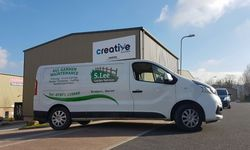 Van Signwriting for S Lee Garden Services