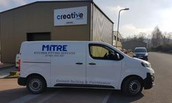 Van Signwriting for Mitre Kitchen Fitting