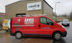 Van Signwriting for Anvis Southwest Plumbing and Heating