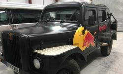 Vehicle Graphics Installation for Red Bull