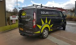 Van Graphics Installation for Solar South West