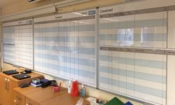 Printed Magnetic Whiteboard for the Cedars NHS