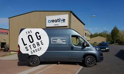 Van Graphics for The Log Store Group