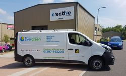 Fleet Van Graphics for Evergreen Renewables