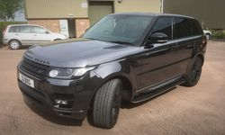 Chrome Range Rover Wrapping: Vehicle Wrapping Service