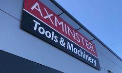 Retail Signage for Axminster Tools, North Shields