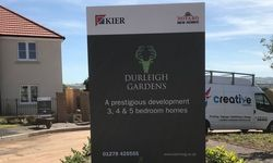 Site Signage Design, Print & Installation for Kier Living