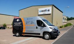 Van Signwriting Design and Installation for Scott Clarke Carpentry