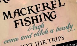 Sign Design Services for Harry May Fishing Trips, Lyme Regis