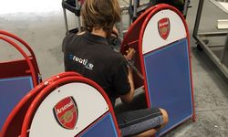 Pavement Signs for Arsenal Women Football Club
