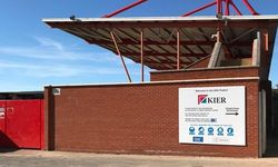 Outdoor Signage produced for Kier Construction