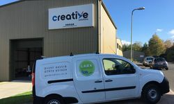 Van Signwriting for Larx Garden Services