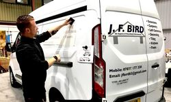 Vehicle Graphics for J. F. Bird