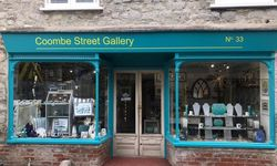 Shop Sign Design and Installation for Coombe Street Gallery, Lyme Regis