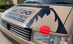 Asado Fire Kitchen Vehicle Graphics