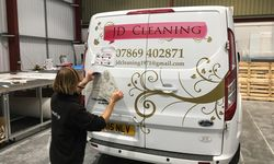 JD Cleaning Vehicle Graphics Design and Application
