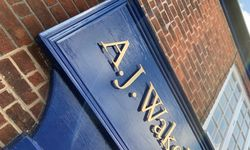 New Shop Signage Update for AJ Wakely & Sons