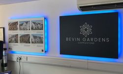 Bevin Gardens Window Graphics and Signage