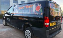 Vehicle Signwriting for Catering Company Yummy Tummy