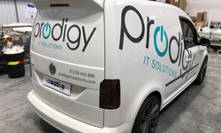 Van Signwriting for Prodigy IT Solutions