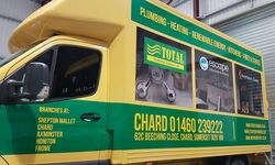 Fleet Vehicle Signwriting for Total Plumbing Supplies