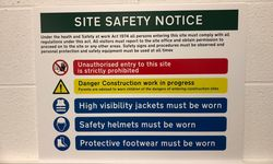 Site Health & Safety Signs for SAS Wireless