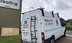 Van Graphics and Tradesman Branding for Matt White Building