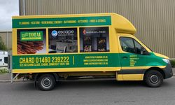 Fleet Vehicle Graphics for Total Plumbing Supplies