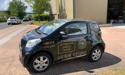 Car Graphics For Sundorbon Indian restaurant
