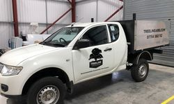 Vehicle Graphics For Treeline Arboriculture
