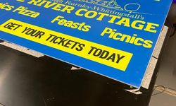 Event Signage for River Cottage