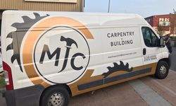 Van Graphics and Design for MJC Carpentry