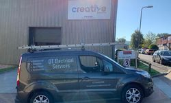 Van Graphics for DT Electrical Services