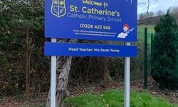 St Catherine's Primary, Bridport - School Signage