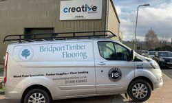 Vehicle Graphics for Bridport Timber and Flooring