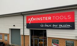 External Signage for Axminster Tools' High Wycombe Store