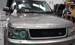 Private Client's Range Rover Sport Vehicle Wrap