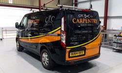 Case Study: Vehicle Graphics Design & Logo Design for CPC Carpentry