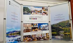 Aero Banner Stand for Lake District Hotels