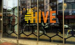 Printed Window Vinyl for Axis @ The Hive, London