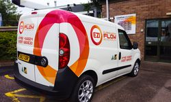 Van Signwriting & Logo Design for Ezi Flow