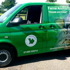 Ferne Animal Sanctuary Van Wrap