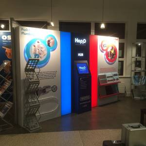 Hep2O Bespoke Exhibition Stand