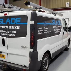 Slade Electrical Services Vehicle Graphics