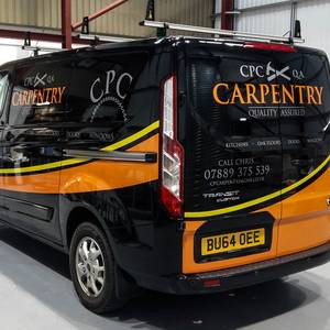 Van Signwriting CPC Carpenty