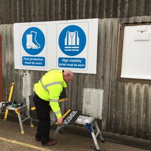 Building Site Signs